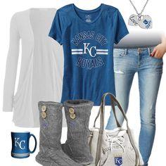 Kansas City Royals Casual Tshirt Outfit