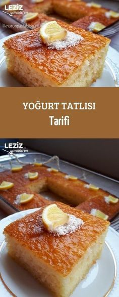 Yoğurt Tatlısı Tarifi - Leziz Yemeklerim - galletas - Las recetas más prácticas y fáciles Sheet Cake Recipes, Cookie Recipes, Easy No Bake Desserts, Oreo Desserts, Good Food, Yummy Food, Turkish Recipes, Cake Cookies, Food And Drink