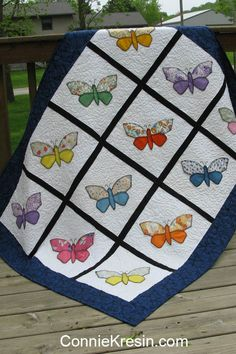 Antique Butterfly quilt