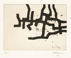 Eduardo Chillida | Continuation III (1966) | Available for Sale | Artsy Abstract Painters, Abstract Art, Art Painting Gallery, Picasso Paintings, Collage, Henri Matisse, Types Of Art, Modern Art, Illustration Art