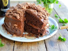 Irish Eyes are Smiling! Chocolate Guinness Cake & Irish Cream Chocolate Mousse Recipes