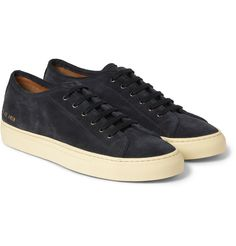 Common Projects - Tournament Suede Low Top Sneakers | MR PORTER
