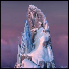 ArtStation - Elsa's Ice Castle, Shaun Absher