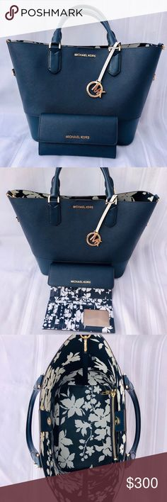 688ff30fad6f9e HP SALE! MK Bag and matching wallet Used about 1 month. Michael Kors !