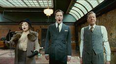 """The King's Speech"" by Tom Hooper (2010) - Helena Bonham Carter, Colin Firth, Geoffrey Rush"