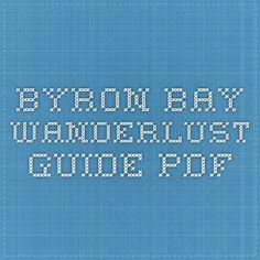 Byron Bay Wanderlust Guide - PDF