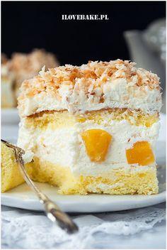 Ciasto biała dama - I Love Bake Vanilla Cake, Baking, Food, Bakken, Essen, Meals, Backen, Yemek, Sweets