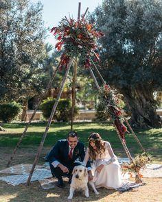 wedding decor, planner, organizacion eventos, inspiracion boda, rewedding, teepee, tipi   Photo by The cosmic weddings