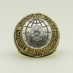 1966 Green Bay Packers Super Bowl I Championship Ring from www.championshipringclub.com . Best gift for Packers fans.