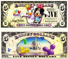 "2009 $5 Daisy Duck and Minnie Mouse <br /> ""Celebrate You"""