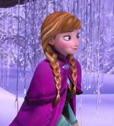 Anna without her hat Disneyland Princess, Disney Princess Frozen, Frozen Elsa And Anna, Disney Princess Pictures, Princess Anna, Frozen Art, Elsa Anna, Jennifer Lee, Kristen Bell