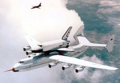 Antonov An-225 with its design payload - Soviet Shuttle Buran