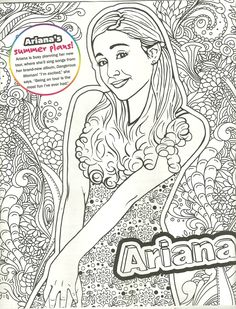 dove cameron \/ liv\/ maddie \/ mal coloring page  my coloring pages  Pinterest  More Dove