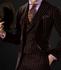 Paul Stuart - Wool Chalk Stripe Phillip Suit, this is fabulous.  I love Paul Stuart.