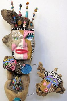 Wild Thang     Recycled found object sculpture LOVE this guy. $600.00, via Etsy. I just won Martha Stewarts American Made Audience Choice Artist & an emerging artist On Art Jury