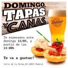 Comparte tus momentos #condeduquegente con nosotros. @beershootermalasana  Este domingo a partir de las 14:00. San Isidro de tapeo!  #dondeirenmadrid #beershooter #malasaña  #malasañamola  #condeduque  #condeduquegente  #madrid #madridmola #madridmemola #cervezaArtesana #craftbeermadrid #cervezaartesanamadrid #callelapalma #beermadrid  #cervezamadrid #tapas #tapeo #tequeños #martes #lluvia #madridfoodtour #madridfood #venezuelaenmadrid #beershootermalasaña #tapas #tapeo #beerporn #foodporn