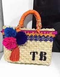 5e61bccee 18 melhores imagens de bolsa de palha customizada | Beach bags ...