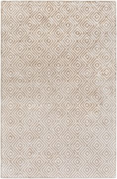 Surya Quartz Geometric Area Rug Neutral