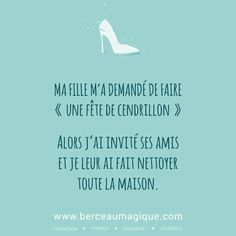 Citation féerique du vendredi #vismaviedeparent #lesenfantssontformidables #citation #cendrillon #berceaumagique