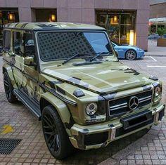 G Klasse camouflage