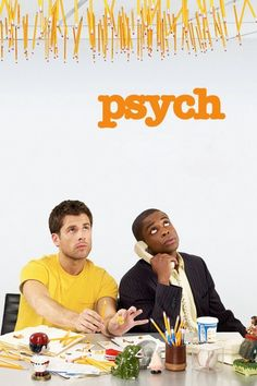 Psych is one of my favorite shows! Any show that can drop a lot of pop culture references makes me happy! :)