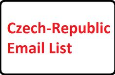 #Czechrepublicemaillist for create your online email marketing campaigns online. You can buy from here Czech-Republic Email List that will help you promote your products in this country.
