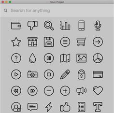 Noun Project: over 150.000 icons designed by creators from around the world