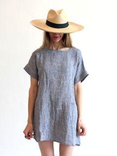 Primoeza Jane Pocket Dress - Indigo - Mille