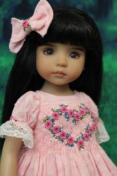 Smocked Ensemble for Effner 13 034 Little Darling Dolls by Petite Princess Designs   eBay