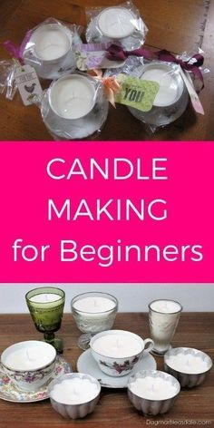 Candle Making for Beginners - Easy DIY Instructions With All My Tricks. #candles #candlemaking #homedecor #DIY #homedecorideas #gifts #giftsforhim #giftideas