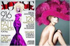 Lady Gaga Adorns the Cover of Vogue! #vogue #ladygaga #fashion www.endlessbeauty.com