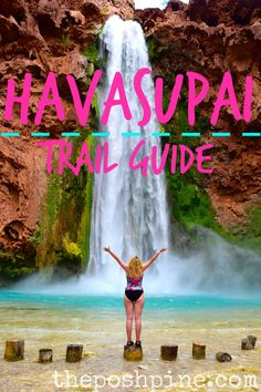 A Trail Guide to Havasupai Falls Indian Reservation theposhpine.com