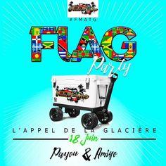 Flag Party l'appel de la Glacière Vous aussi intégrez vos événements dans l'Agenda des Sorties de www.bellemartinique.com C'est GRATUIT !  #martinique #Antilles #domtom #outremer #concert #agenda #sortie #soiree