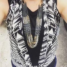 Use our wrap to make a vest! #StelladotStyle. www.stelladot.com/sites/sylviacuff #stelladotbysylvia