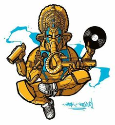 The 5 elements of hip hop & ganesha