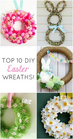 10 gorgeous DIY Easter wreaths you'll want to leave up all spring!