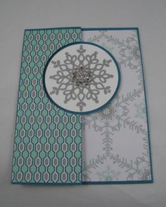 Festive Flurry Stampin' Up Circle Thinlits Card Dies  by Miechelle Weber  www.stampinu.wordpress.com