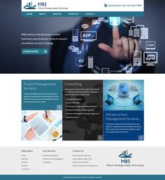Create a professional, clean yet interesting website by 200099