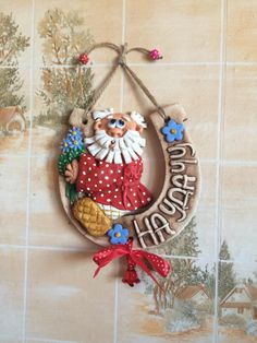 Butterfly Wall Art, Clay Crafts, Clay Art, Biscuit, Polymer Clay, Christmas Ornaments, Holiday Decor, Creative, Handmade