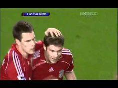 Xabi Alonso 60 Yard Goal vs Newcastle