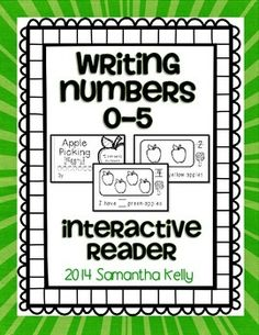 Free Math Reader for numbers 1-5