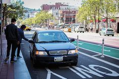 Ride-hail companies like Uber and Lyft are being blamed by the San Francisco Municipal Transportation Agency for a lack of regulation that has led to increased traffic in The City. (Ekevara Kitpowsong/Special to S.F. Examiner)