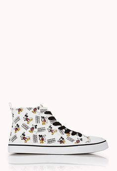 Standout Mickey High-Tops | FOREVER21