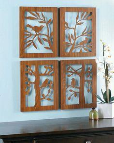 Decora tu hogar oficina o negocio con cuadros exclusivos elaborados en madera…