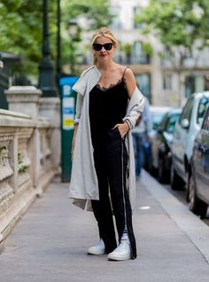 Another '90s Going-Out Trend Is Back #refinery29  http://www.refinery29.com/black-mesh-clothes#slide-6  ...