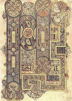 Book of Kells, Folio 130r, Incipit of MarkSuch awesum artwork..!  #Scotland  #EverythingScottish