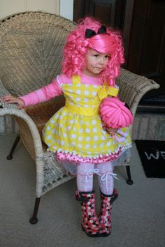 Lalaloopsy Costume last year.