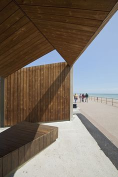 Bexhill Beach Shelters Duggan Morris Architects