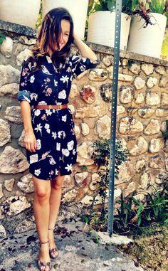 Grainline Archer shirt dress