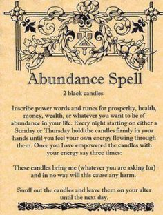 Abundance spell, lottery spells, money drawing spells, good luck money spells, money luck spells , money charms that work